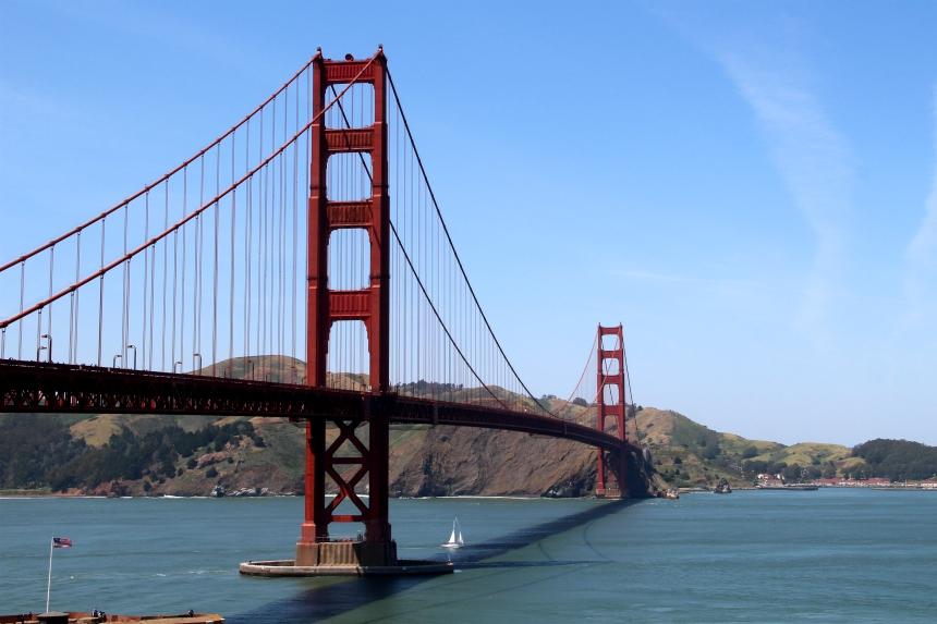 De iconische Golden Gate Bridge moet je eens gezien hebben