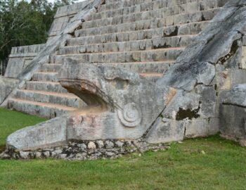 De ruïnes van Chichén Itzá