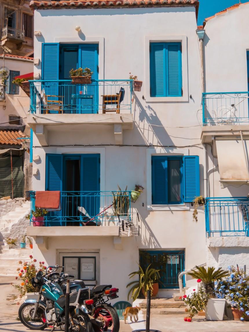 Gythio: de Griekse sfeer spat van alle huizen af