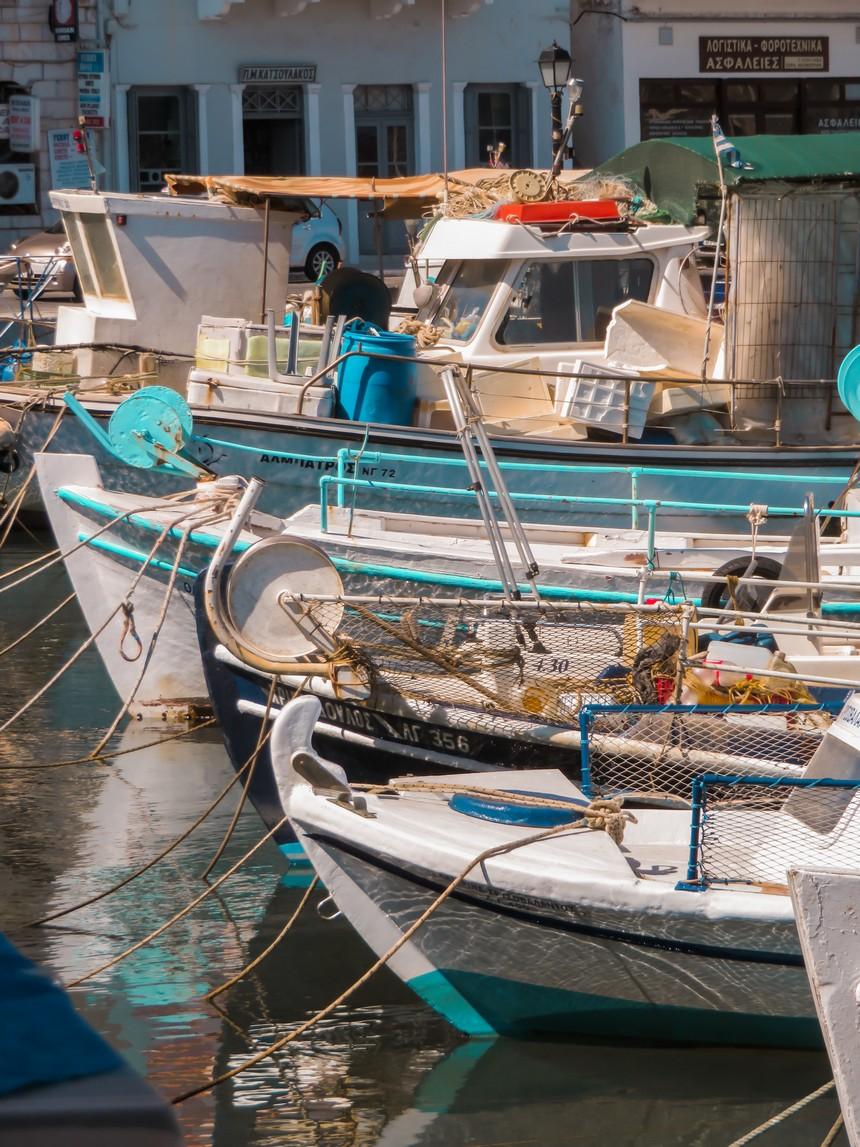 Vissershaven van Gythio