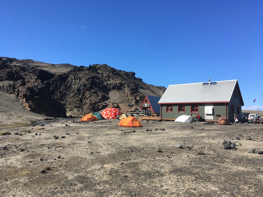 kamperen berghut Dreki