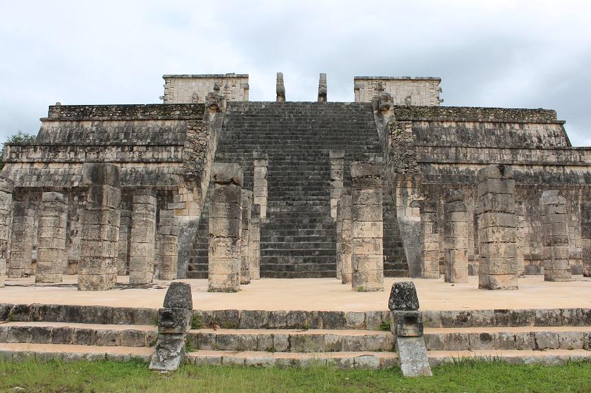 Chichen Itza - de machtige piramide Kukulcán