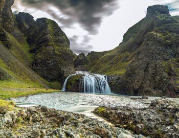 Het spectaculaire binnenland van IJsland