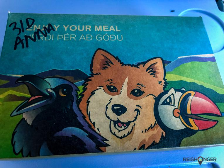 kidsmeal bij Icelandair