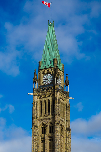 De Peace tower Parliament Hill