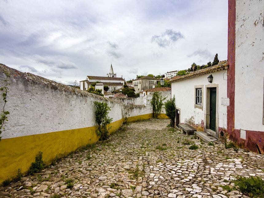 De straatjes van Obidos