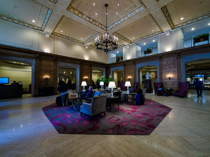Interieur Fairmont Chateau Laurier