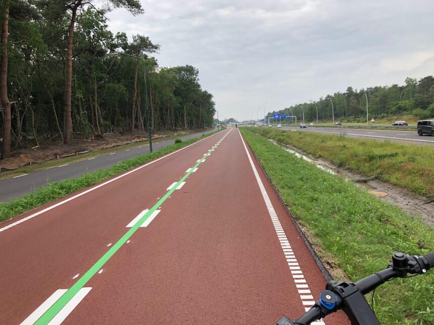 Fietssnelweg tussen Tilburg en Waalwijk
