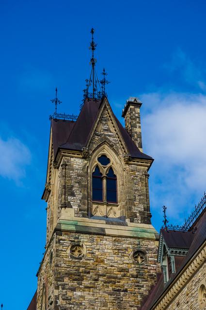 Gothische bouwstijl Parliament Hill