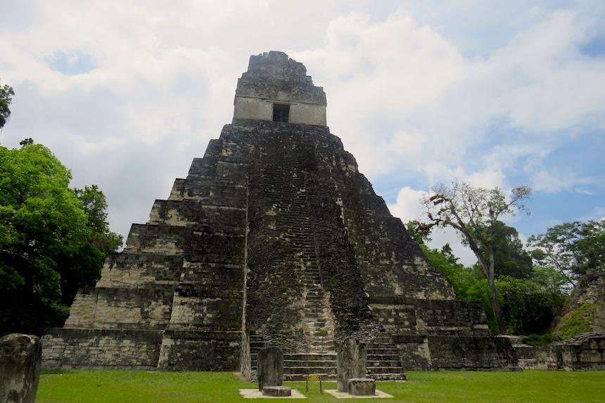 de oude Maya-stad Tikal