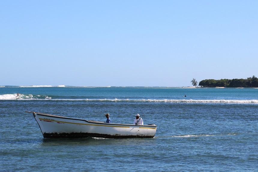 Mauritius gaat terecht prat op Nou la mer, nou tresor. Onze zee, onze schat.