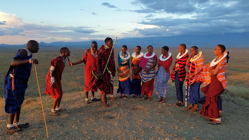 Maasai springen