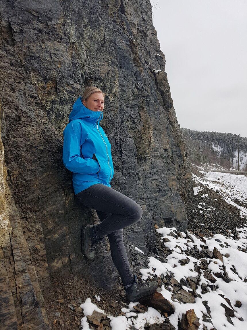 The North Face Impendor Shell jas - Winterse omstandigheden onderweg naar de noordelijke provincie de Yukon