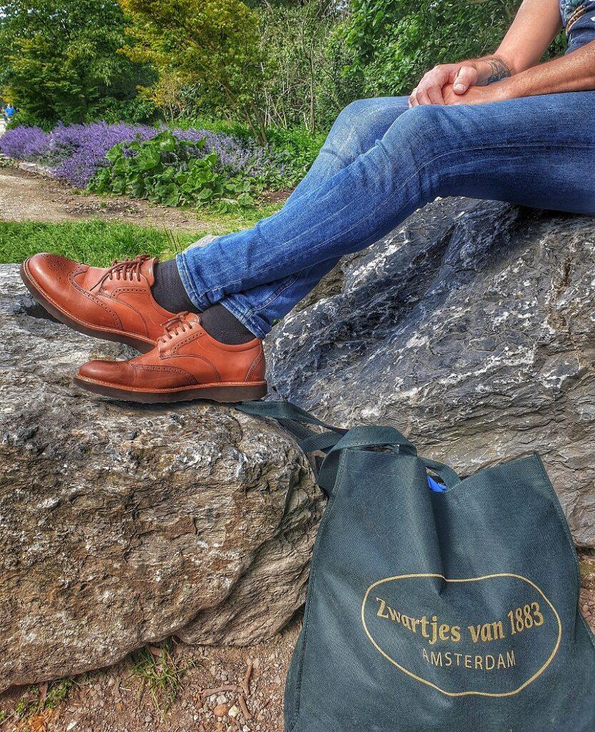 De schoenen van Samuel Hubbard staan wereldwijd bekend om hun bizar goede afwerking én hun draagcomfort. De Samuel Hubbard tipping point is daar geen uitzondering op. Niet onbelangrijk tijdens lange wandeltochten door steden.