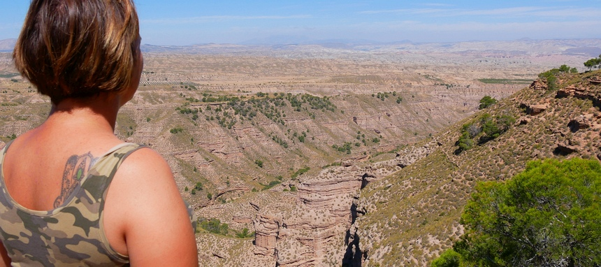 Zo mooi is in Spanje de woestijn.