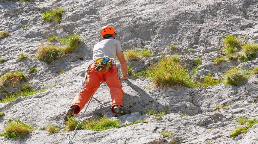 Goede klimmogelijkheden voor alle niveau's .