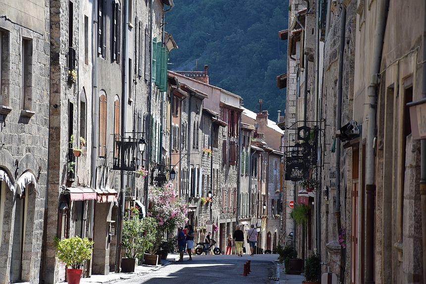 Rue Saint-Jean, Villefranche-de-Conflent