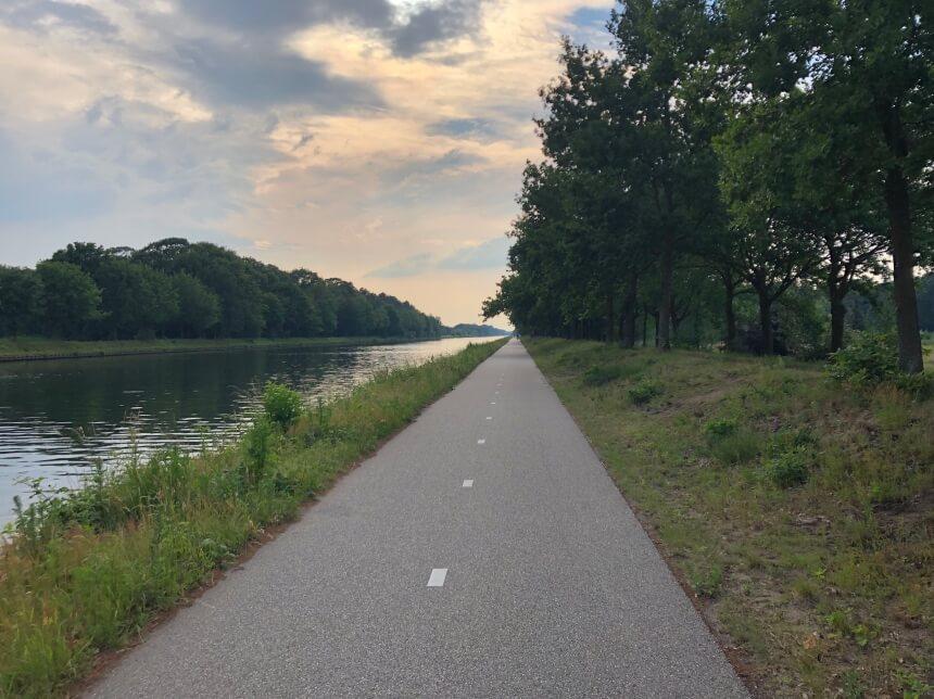 Wilhelminakanaal tussen Dongen en Oosterhout