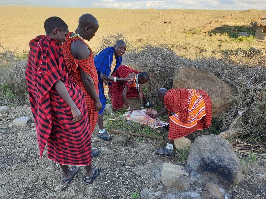 Geiten BBQ Maasai