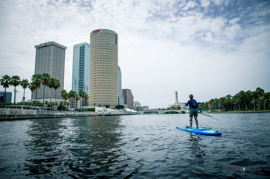 Stand Up Paddling Hillsborough River