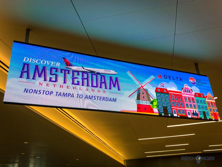 Delta: Tampa-Amsterdam