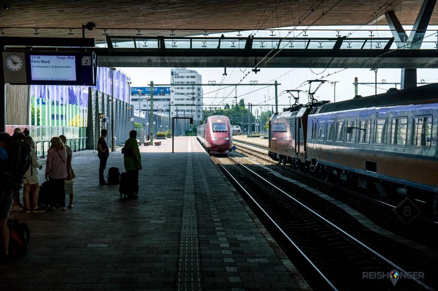 De Thalys naar Paris-Nord
