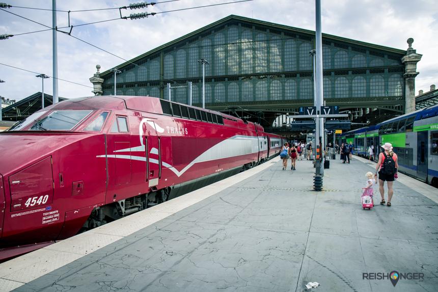 Naar Parijs met kinderen - pak de trein