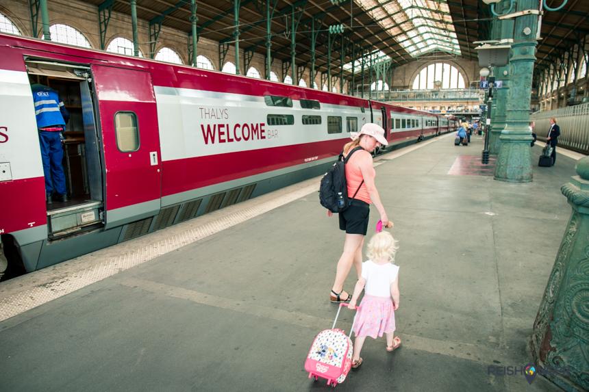 Aankomst Thalys Gare du Nord