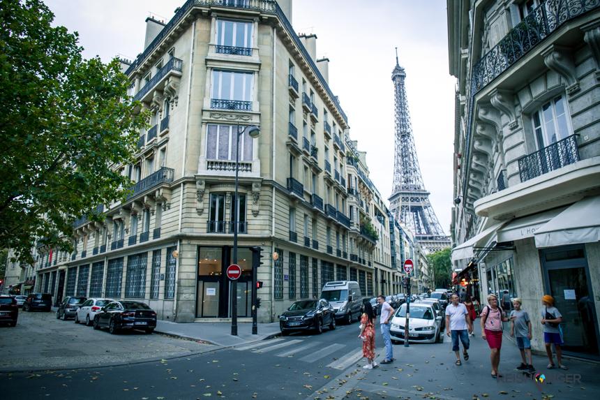 Oog in oog met de Eiffeltoren, het icoon van Parijs