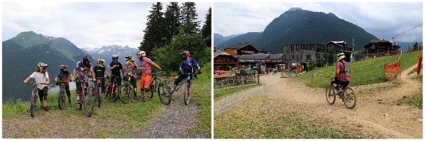Morzine noemt zichzelf de Europese hoofdstad van het downhill mountainbiken