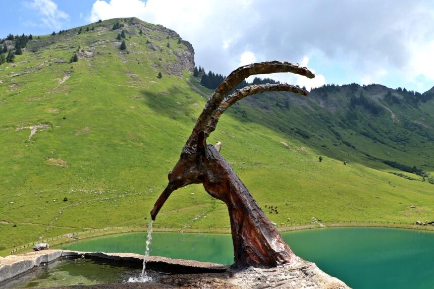 Mijn favoriete berghut in de Franse Alpen ligt bij Lac de Nyon Guerin
