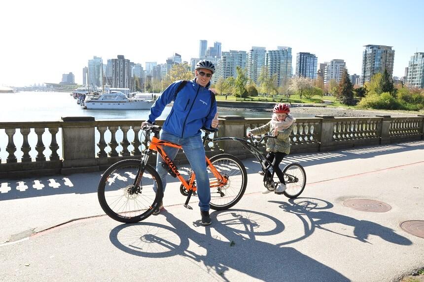 Heerlijk ontspannen fietsen in Stanley Park