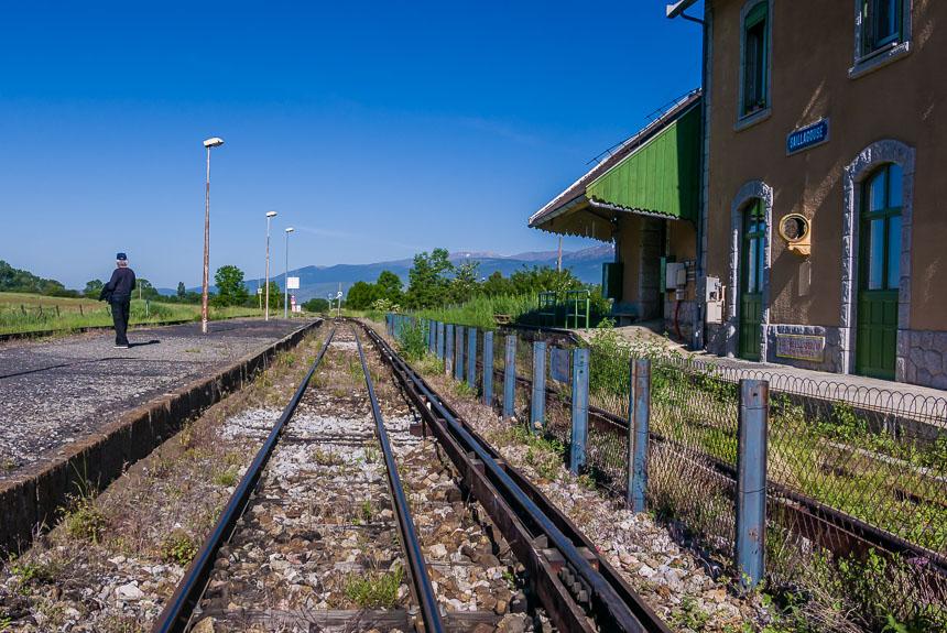 Het station van Saillagousse
