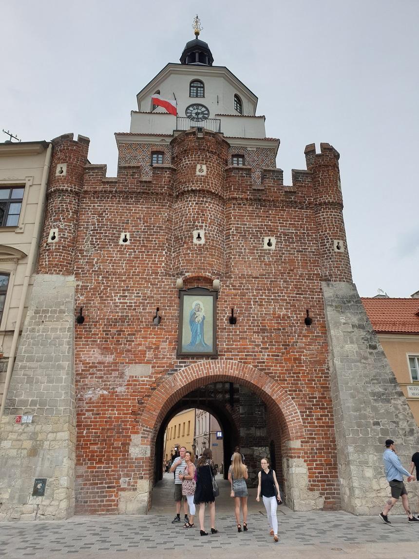 Lublin oude centrum