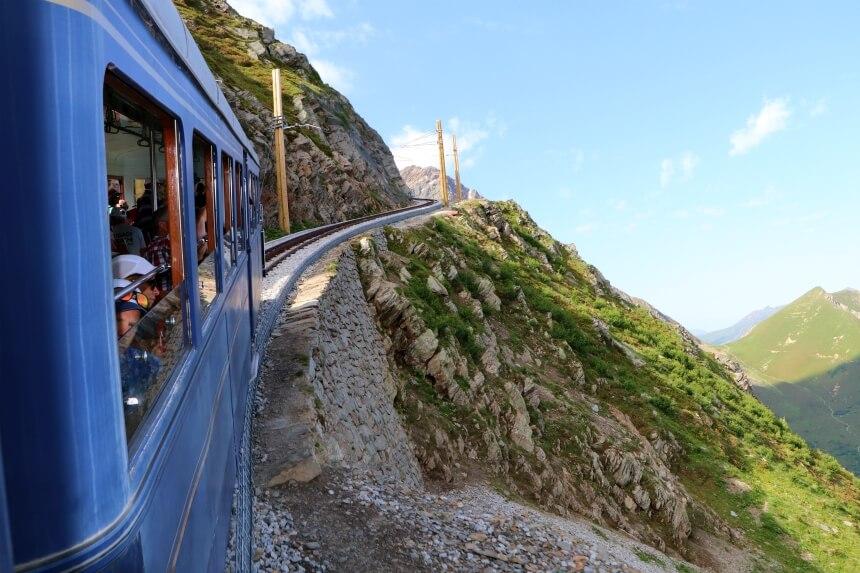 De Tramway du Mont Blanc is de leukste manier om de Mont Blanc te zien zonder naar de top te klimmen