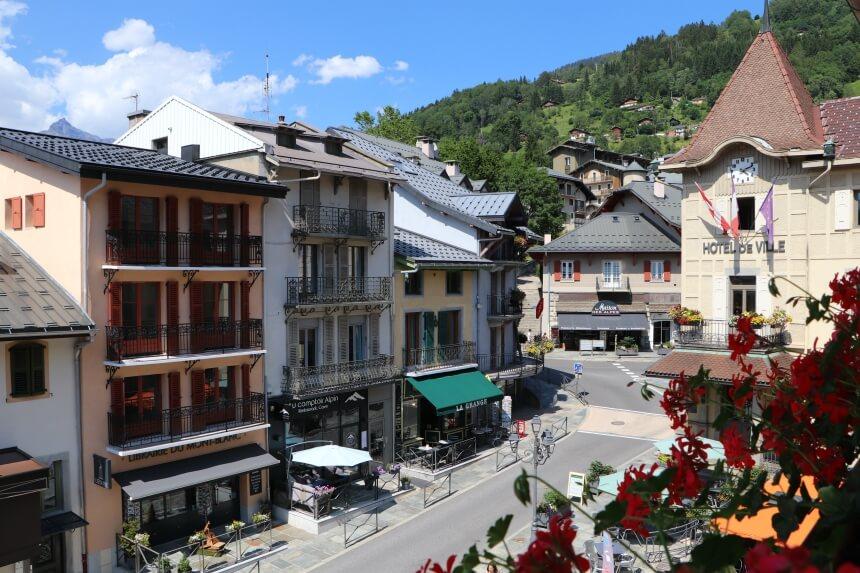 Saint-Gervais vormt de toegangspoort tot de Mont Blanc