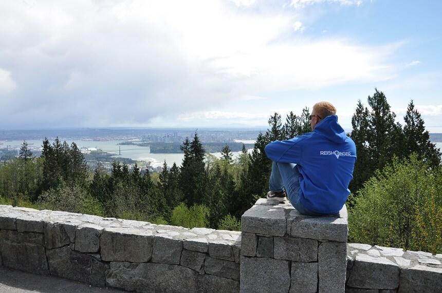 Uitkijkpunt Cypress Mountain in Vancouver