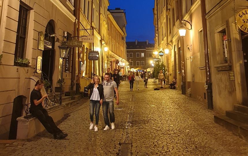 avond in Lublin