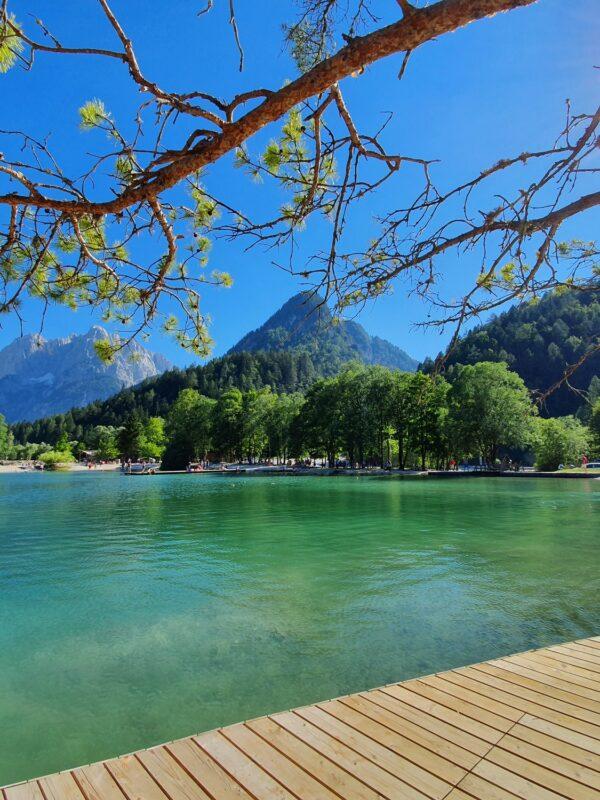 Lake Jasna, Slovenië