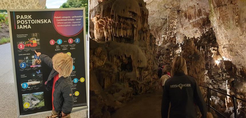 De grotten van Postojna