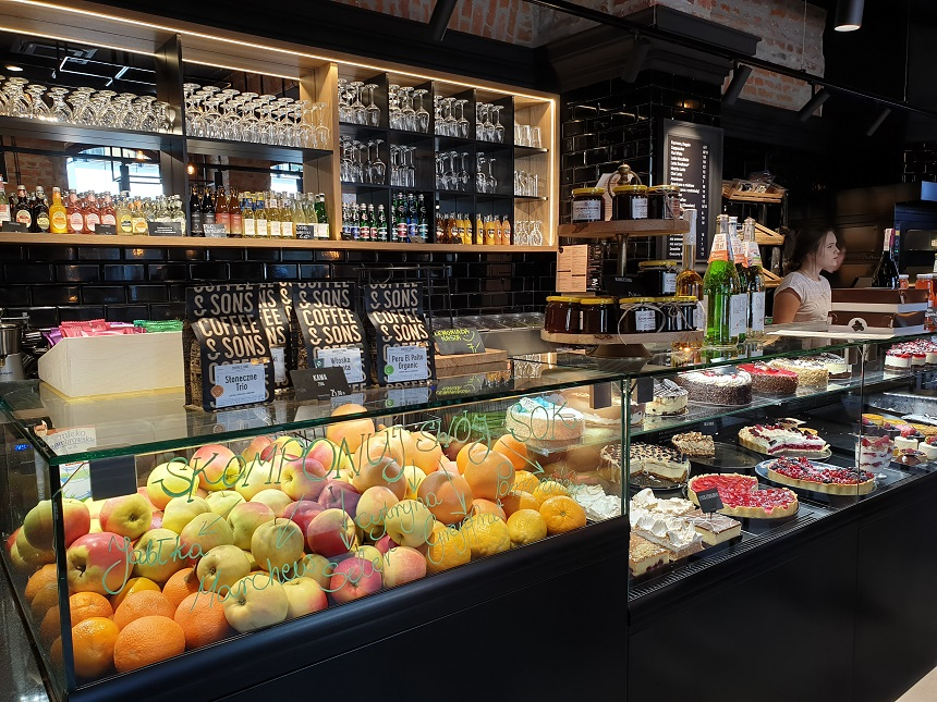 trendy lunchrooms Lublin