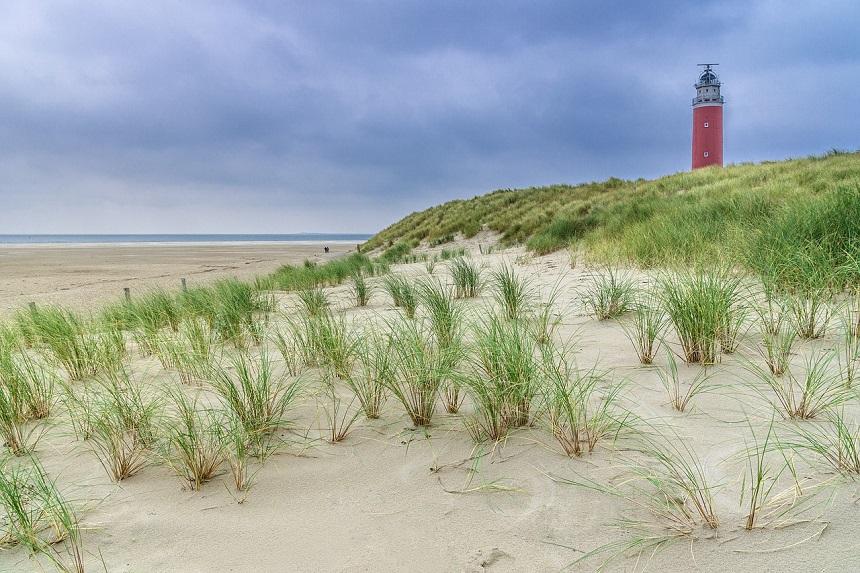 vuurtoren op Texel