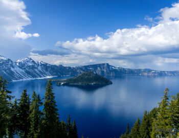Oregon en het surrealistische Crater Lake
