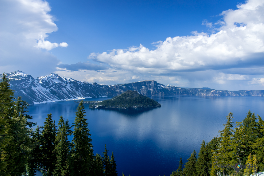 Crater Lake is een van 's werelds bekendste kratermeren