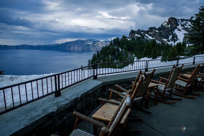 Uitzicht Crater Lake