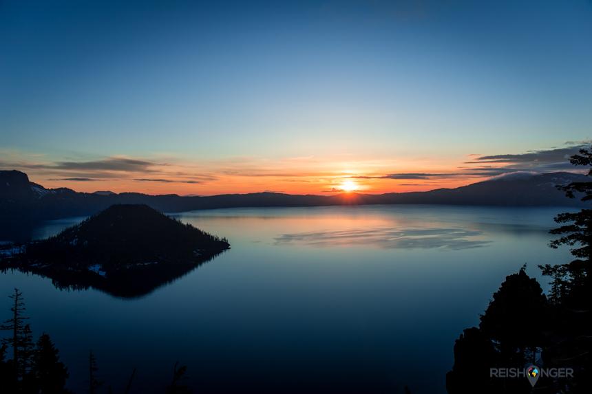 Het meer vormt de spil van Crater Lake National Park