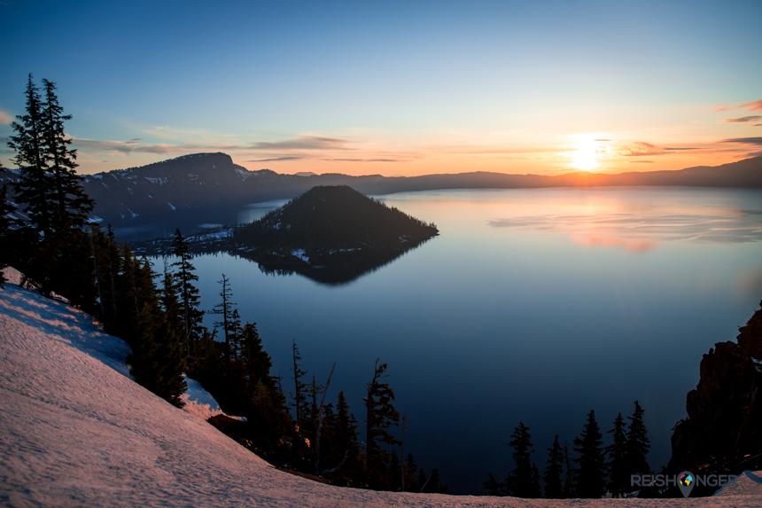 Uitzichtpunt Crater Lake