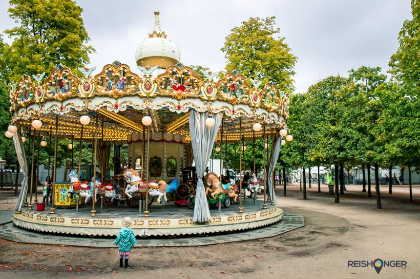 Parijs met kinderen - bezoek Jardin des Tuileries