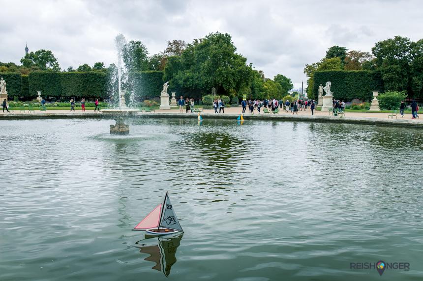Jardin des Tuileries zeilbootjes