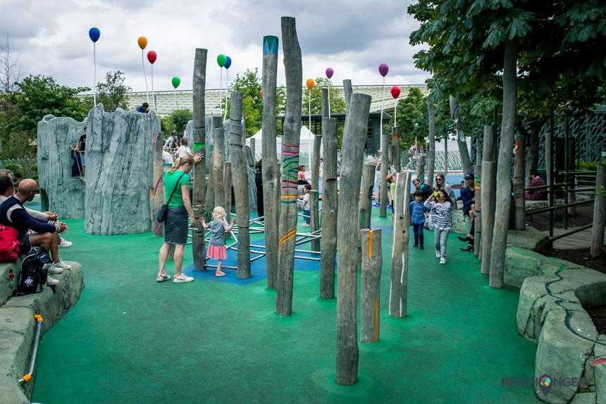 Parijs met kinderen: Jardin Nelson Mandela